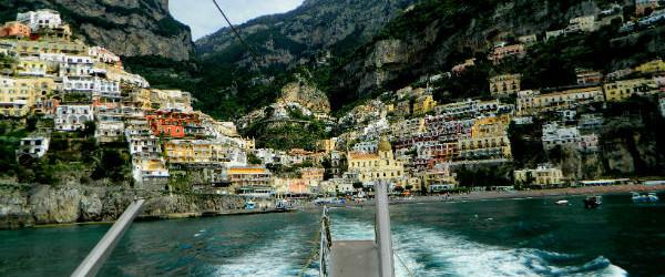 The Blue Grotto on the Italian Island of Capri
