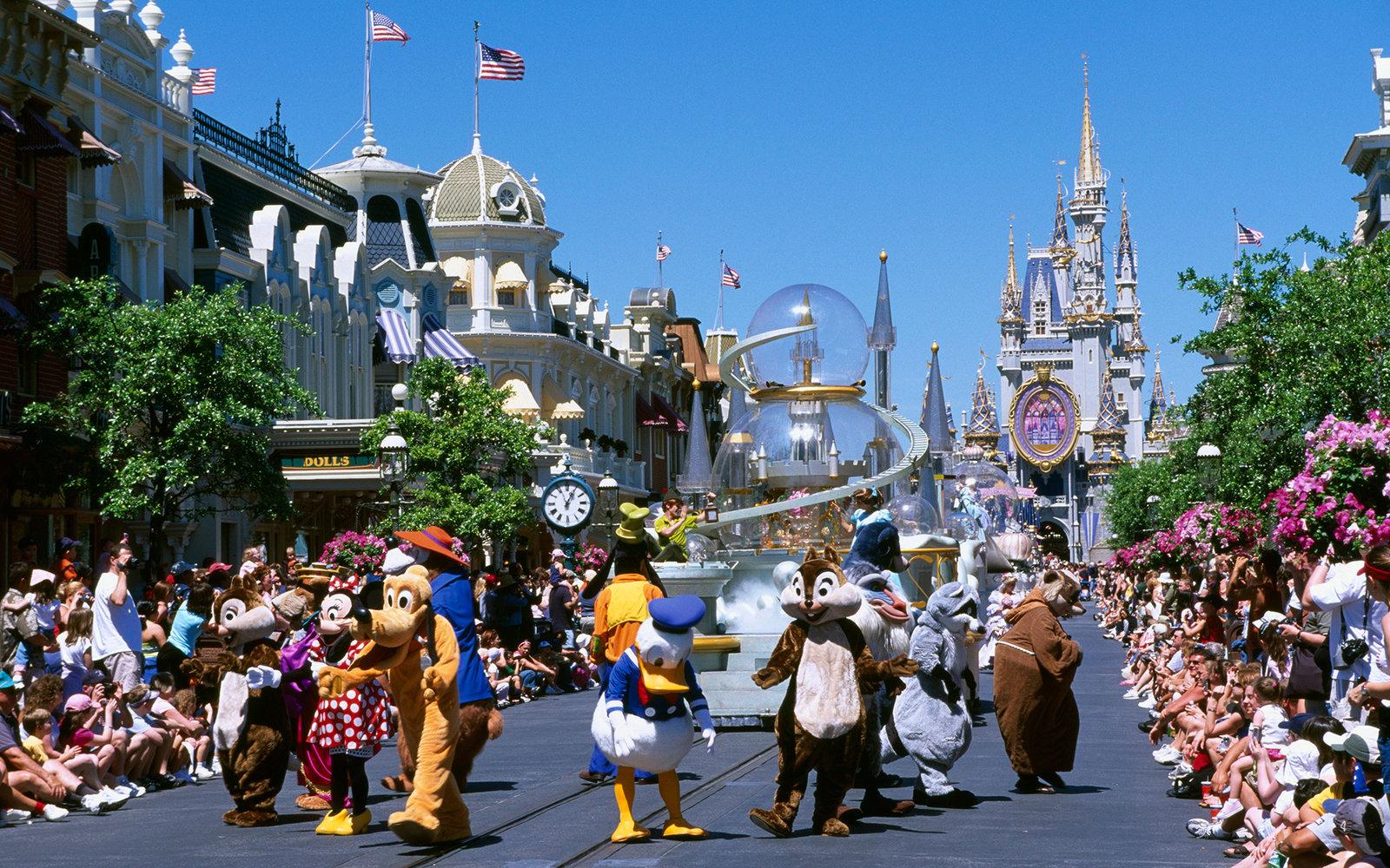 C15HER Magic Kingdom, Disneyworld, Disney World, Orlando, Florida, USA