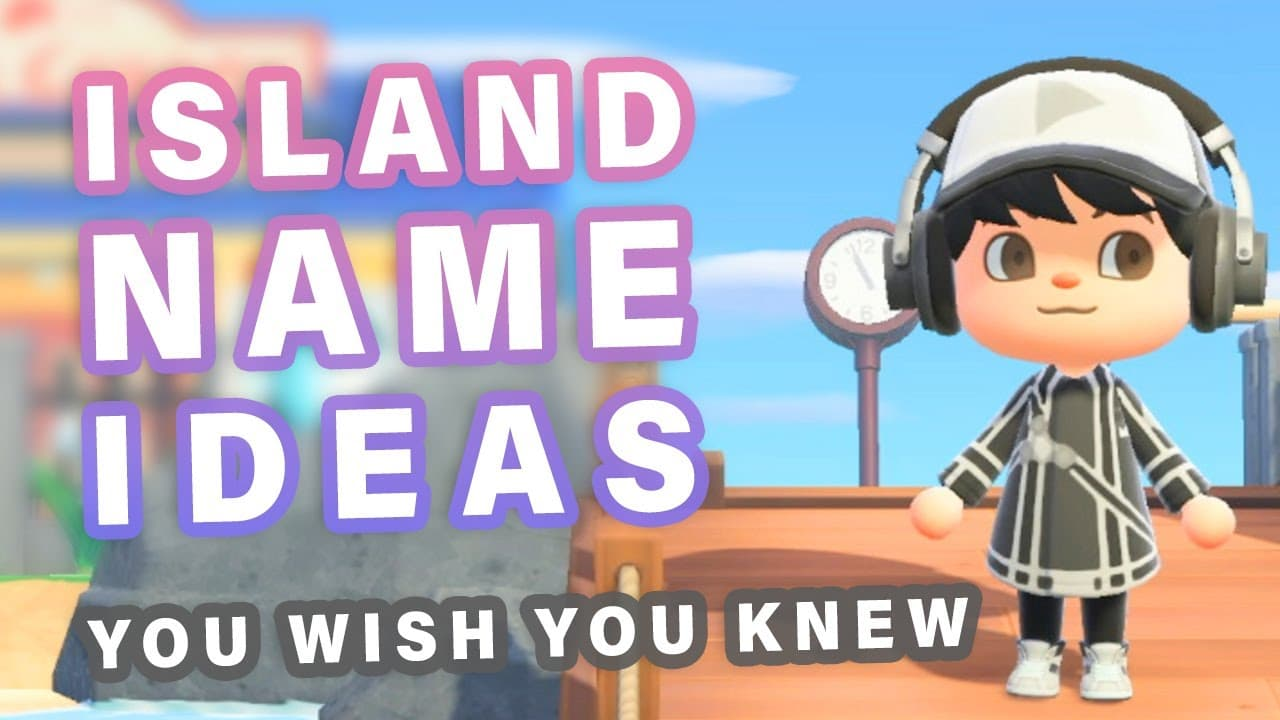 Animal Crossing Island Names