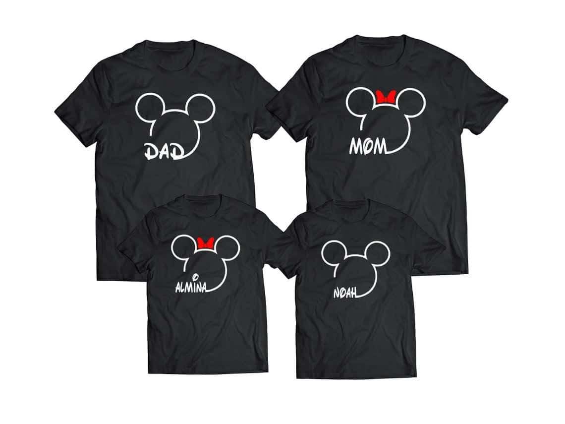 matching family disney shirts